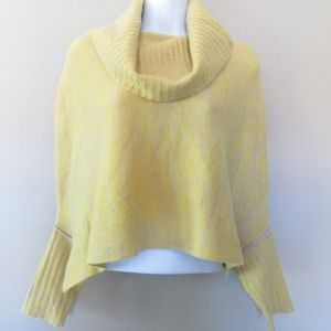 Sparrow Cashmere Sweater Cropped Cowl Neck